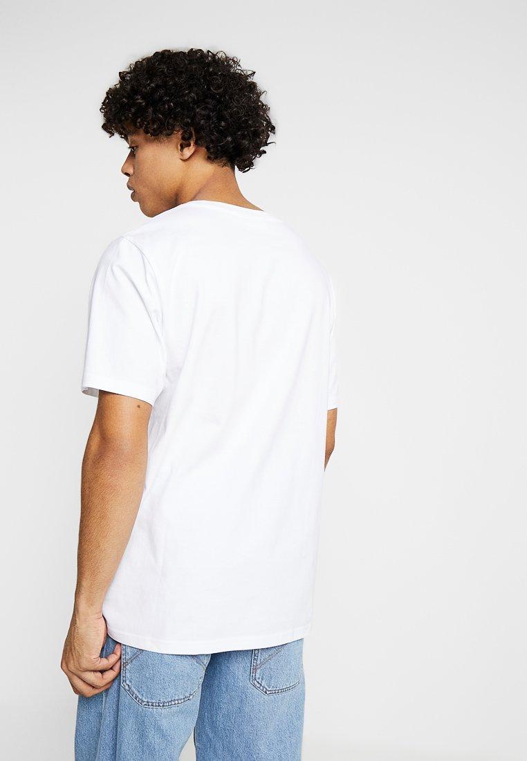 shirt Sun White Imprimé Frank Weekday StripeT CsQBthxrd