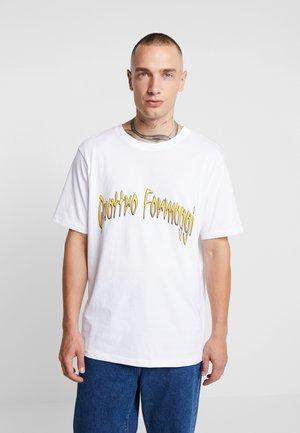 FRANK QUATTRO FORMAGGI - T-shirt imprimé - white