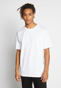 Weekday - FRANK - T-shirt - bas - white - 0