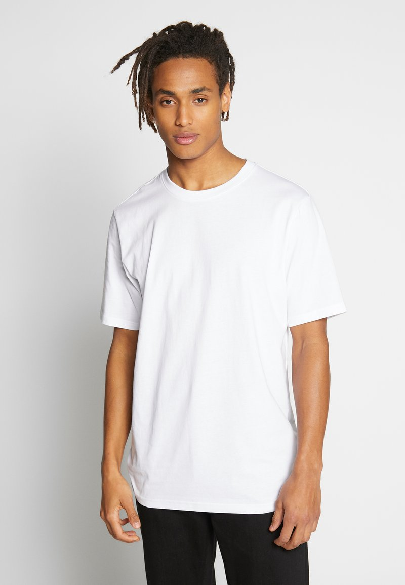 Weekday - FRANK - T-shirt - bas - white