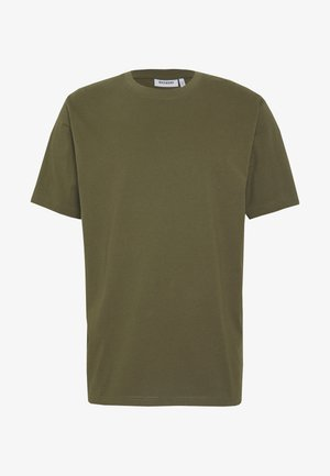 FRANK - Basic T-shirt - khaki green
