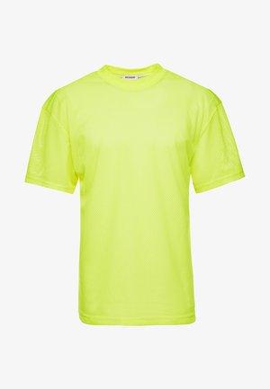 GREAT CAPSULE - T-paita - neon yellow