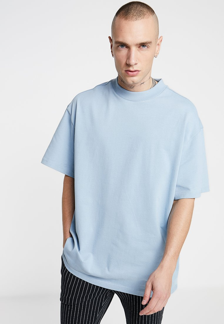 Weekday - GREAT OVERSIZE  - T-Shirt basic - blue