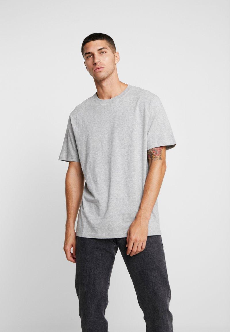 Weekday - FRANK  - T-shirt - bas - grey dusty light