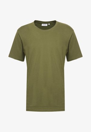 FRANK - Basic T-shirt - dark green