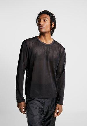 MARLON SWEATER - Langærmede T-shirts - black/navy