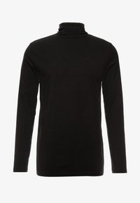 Weekday - TED TURTLENECK LONG SLEEVE - Maglietta a manica lunga - black - 3