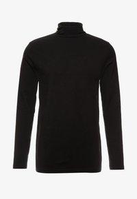 Weekday - TED TURTLENECK LONG SLEEVE - Long sleeved top - black - 3