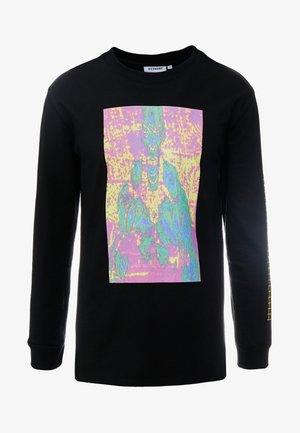 AMPED GRAPHIC LONG SLEEVE - Pitkähihainen paita - black