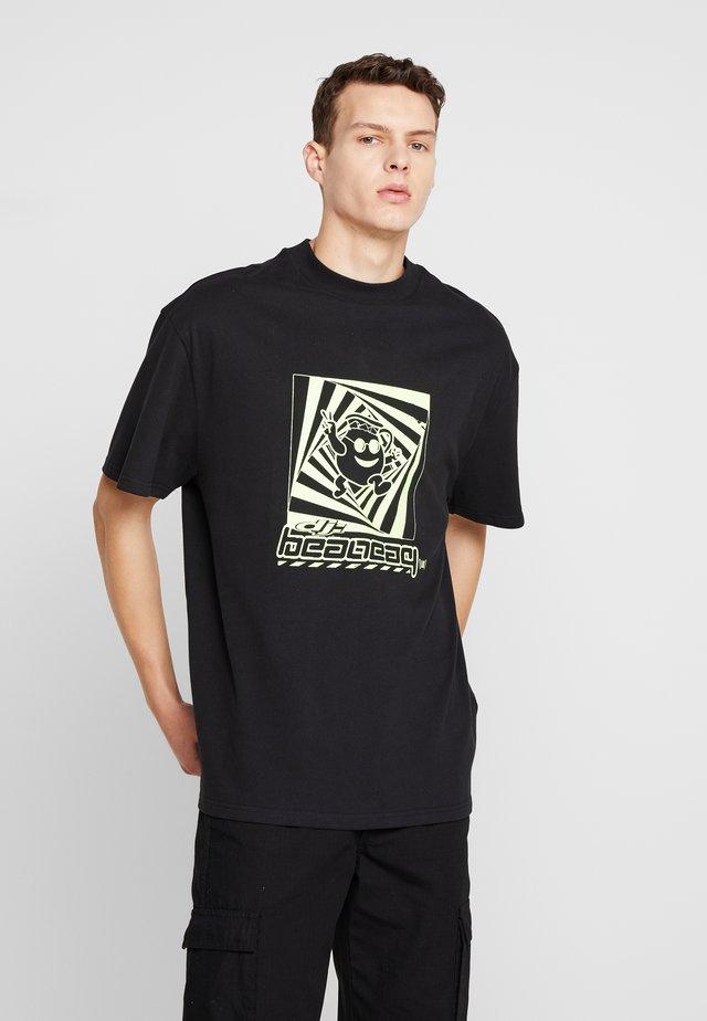 GREAT DJ  - T-Shirt print - black