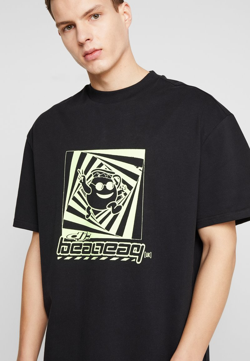 Weekday GREAT DJ - T-shirts med print - black
