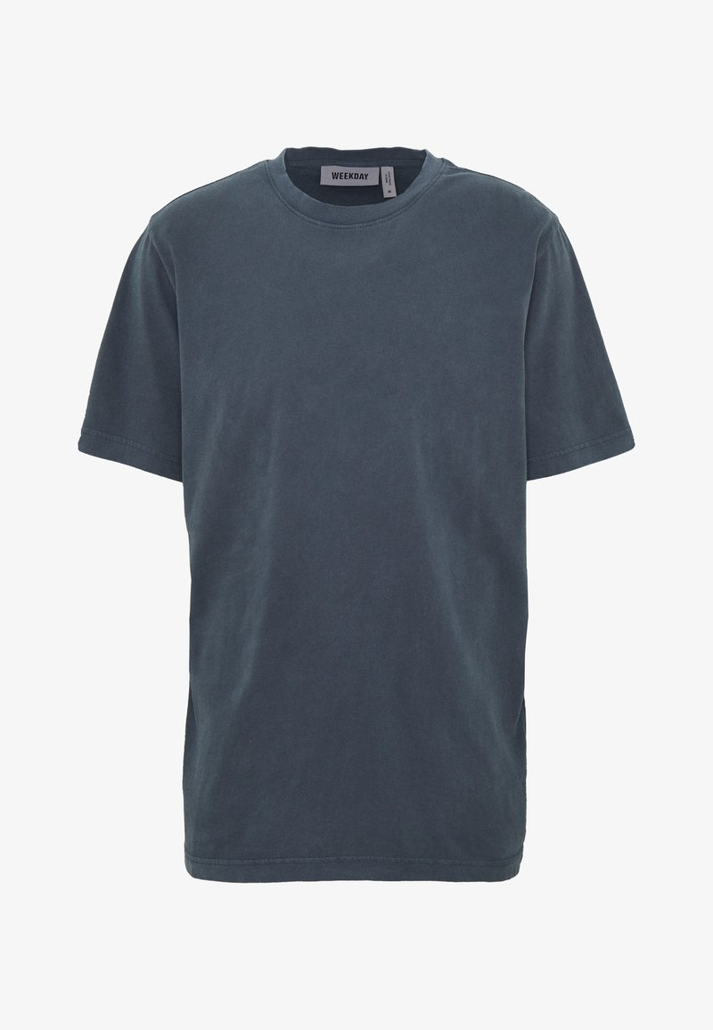 Weekday - FRANK - Basic T-shirt - dark blue