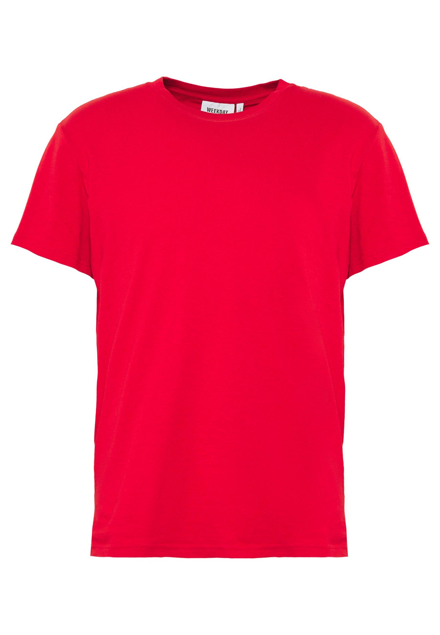 Weekday Alan - T-shirt Basic Grey Mélange c0mVR