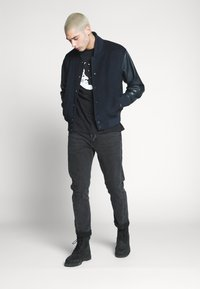 Weekday - BILLY HEY MOON - T-shirt med print - black - 1