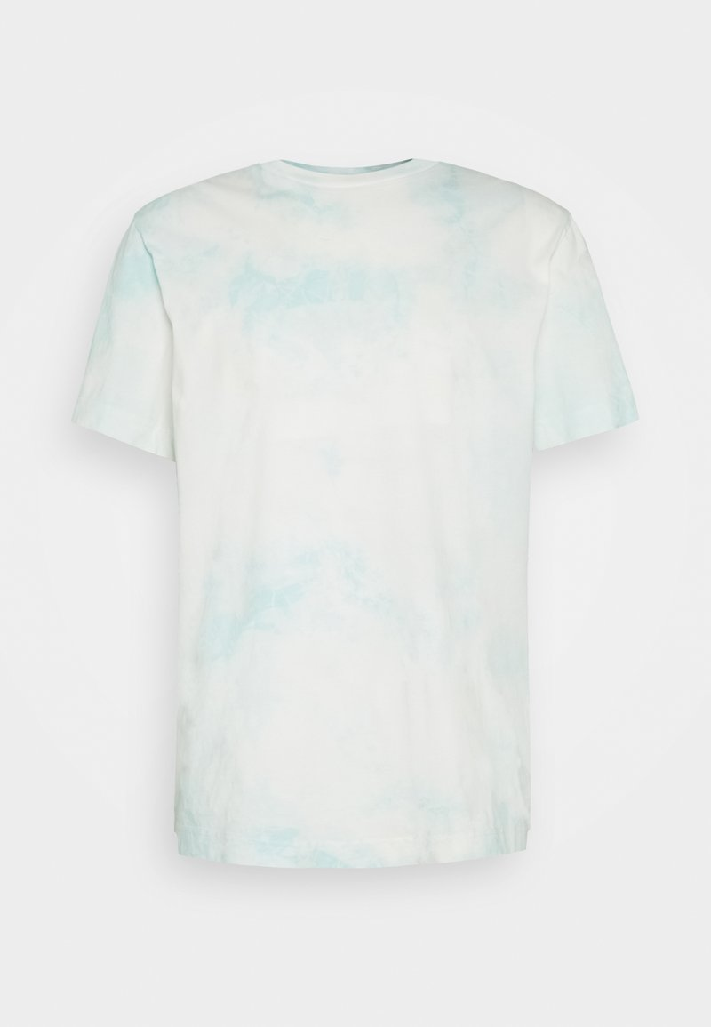 Weekday - BILLY WASHED  - Print T-shirt - blue/green