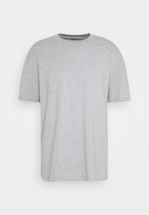 OVERSIZED - Basic T-shirt - grey melange
