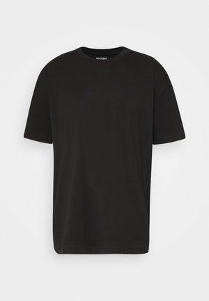 OVERSIZED - Jednoduché triko - black