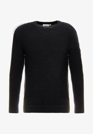 SMYTH STRUCTURE - Jersey de punto - black