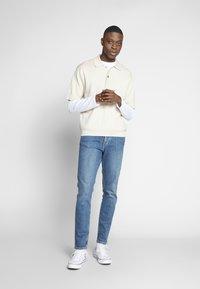 Weekday - BELDON SHORTSLEEVE - Polo shirt - beige - 1
