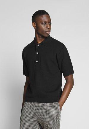 BELDON SHORTSLEEVE - Polo shirt - black