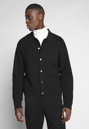 ALLARD CARDIGAN - Cardigan - black