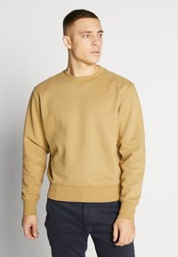 Weekday - ALBIN  - Sweatshirt - dark sand - 0