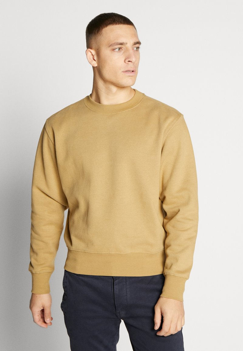 Weekday - ALBIN  - Sweatshirt - dark sand