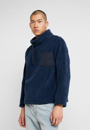 ABE FUNNEL NECK  - Bluza z polaru - blue
