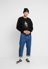 Weekday - ROMANO BURNING PIG  - Sweatshirt - black - 1