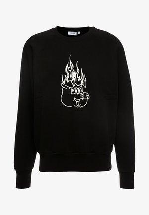 ROMANO BURNING PIG  - Sweatshirt - black