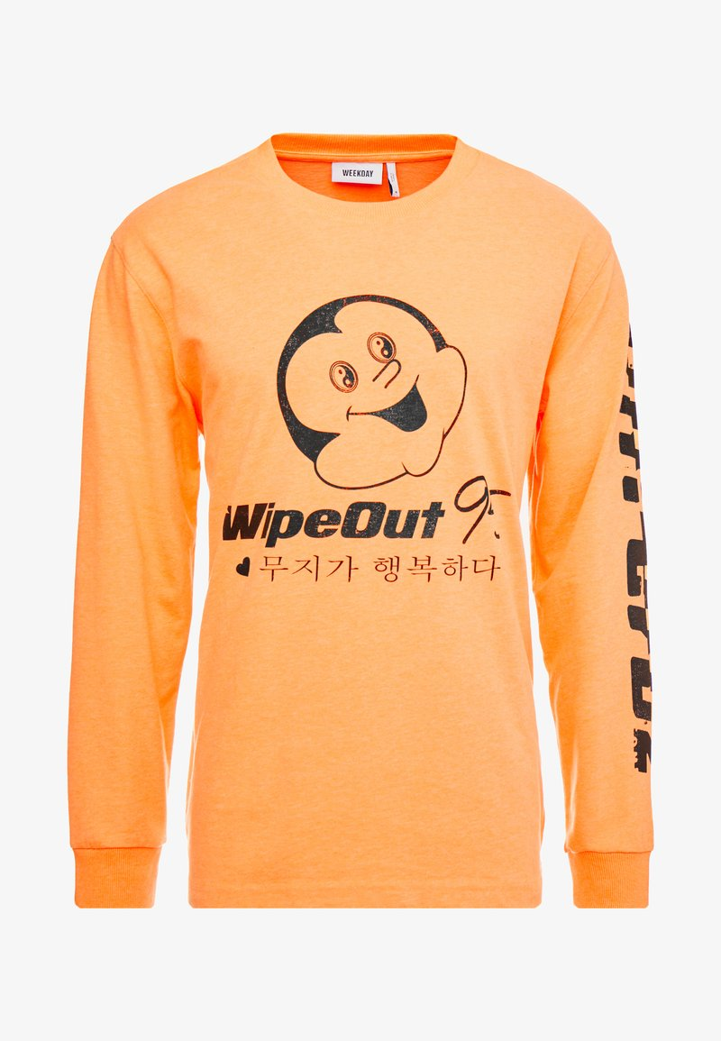 Weekday AMPED WIPEOUT - Topper langermet - orange