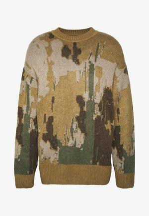 ROMEO ART JACQUARD - Pullover - beige