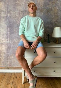 Weekday - PARIS  - Sweatshirt - turquoise - 0