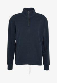 Weekday - ROD HALFZIP - Sweatshirt - navy - 4