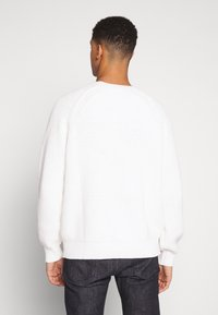 Weekday - STERLING SWEATER - Strickpullover - white - 2