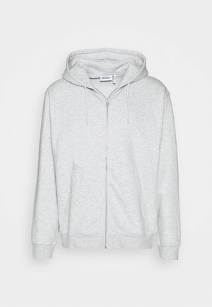 STANDARD ZIP HOODIE - Sweatjakke /Træningstrøjer - light grey melange