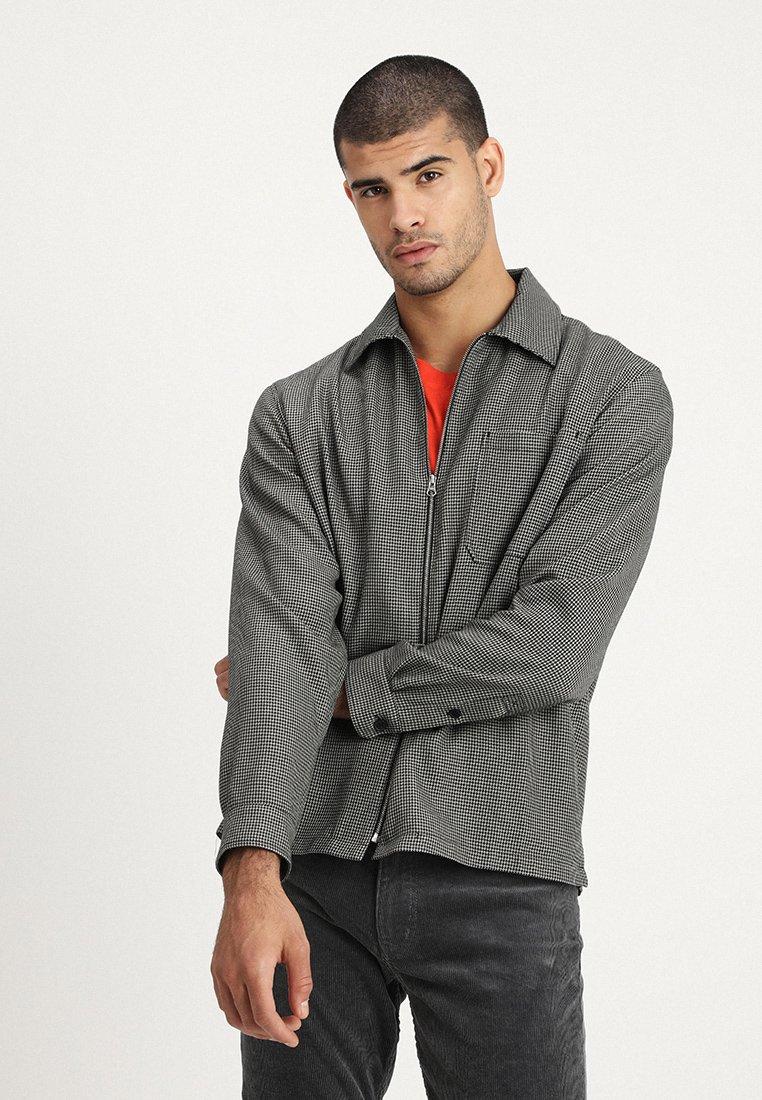Weekday - TODD - Shirt - black/beige
