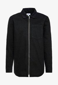 Weekday - ZIP TUNED  - Denim jacket - tuned black - 3