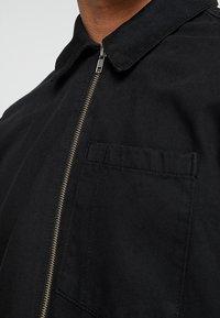 Weekday - ZIP TUNED  - Denim jacket - tuned black - 4
