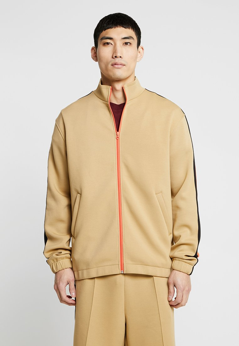 Weekday - ZIP - Trainingsjacke - beige