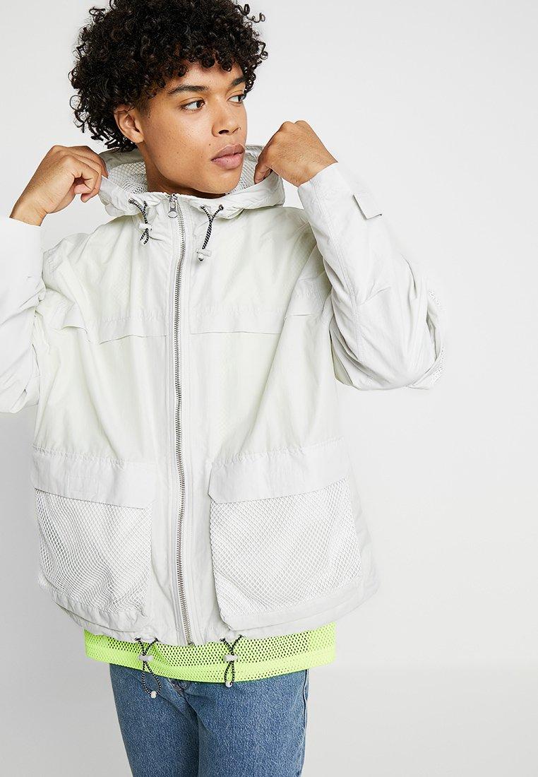 Weekday - IBRAHAIM  - Summer jacket - light grey