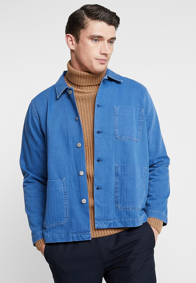 Weekday - GENERIC JACKET - Spijkerjas - blue