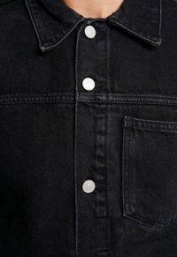 Weekday - CORE JACKET TUNED - Džínová bunda - black dark - 3