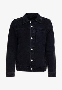 Weekday - CORE JACKET TUNED - Džínová bunda - black dark - 4