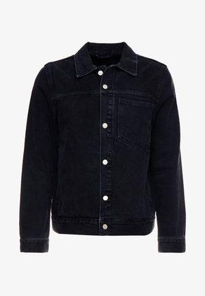 CORE JACKET TUNED - Veste en jean - black dark