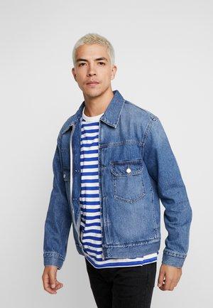 SIP JACKET - Veste en jean - indigo