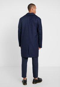 Weekday - LEWIS TOPCOAT - Wollmantel/klassischer Mantel - dark blue - 2