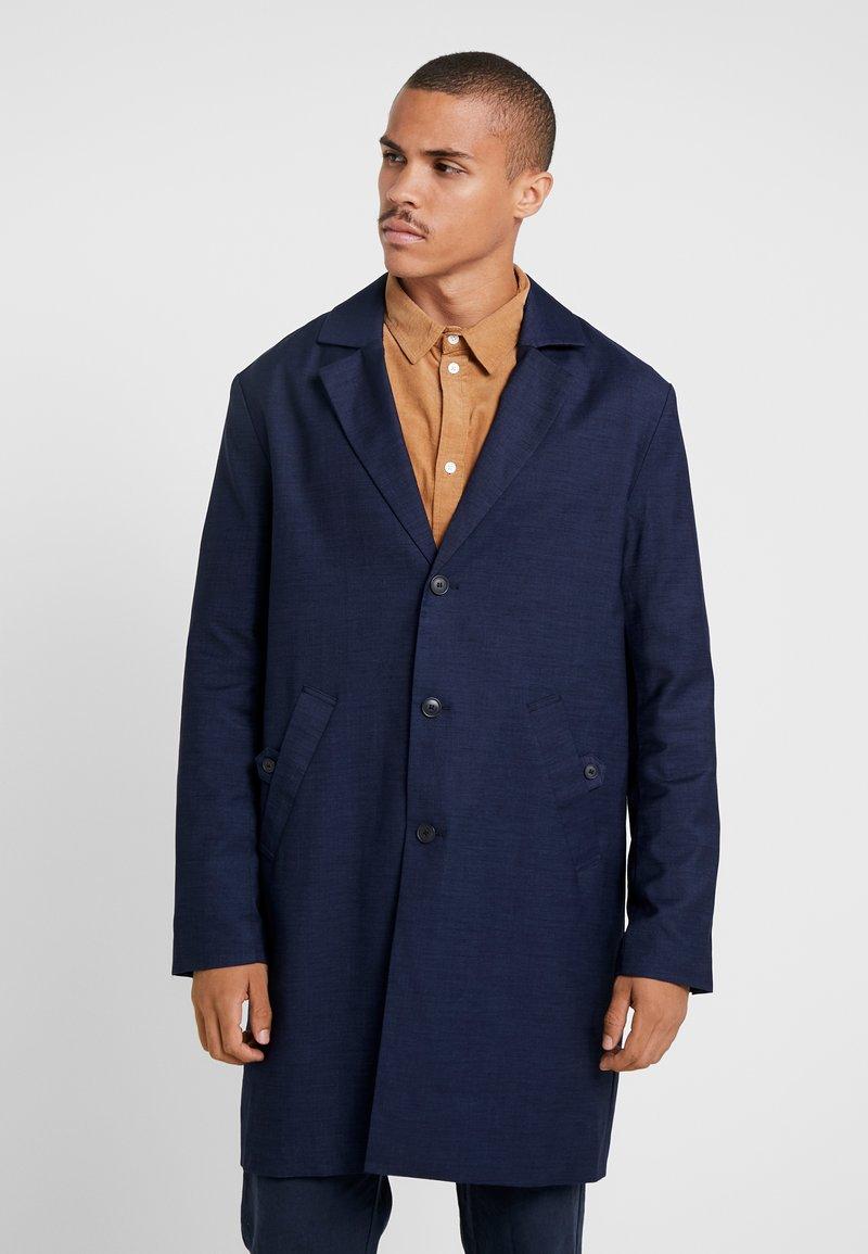 Weekday - LEWIS TOPCOAT - Zimní kabát - dark blue