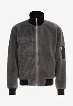 DWIGHT JACKET - Lehká bunda - dark grey