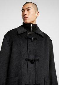 Weekday - ARTUR DUFFEL COAT - Classic coat - dark grey melange - 4